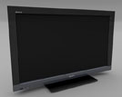 Sony Bravia TV - Product Render